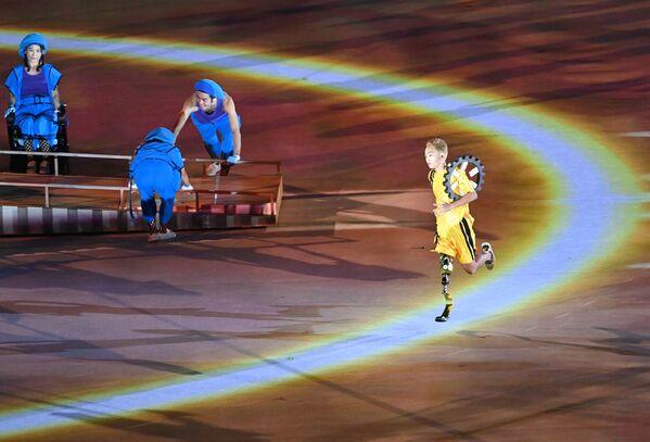 Los Juegos Paralímpicos de Tokio debían celebrarse del 25 de agosto al 6 de septiembre de 2020, pero fueron aplazados debido a la pandemia. En la foto: la ceremonia de inauguración de los Juegos Paralímpicos 2020. - Sputnik Mundo