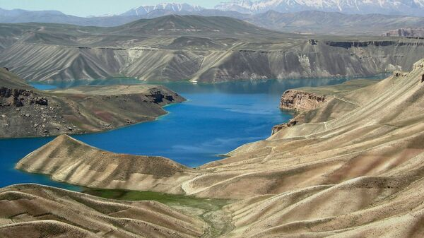 Банд-э-Амир в провинции Бамиан в Афганистане - Sputnik Mundo