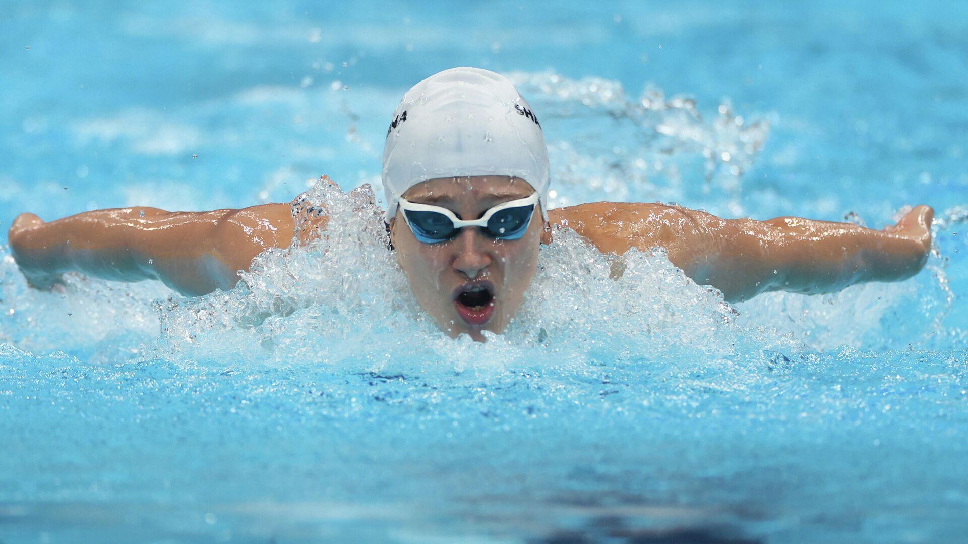 La nadadora rusa Valeriia Shabalina - Sputnik Mundo, 1920, 25.08.2021