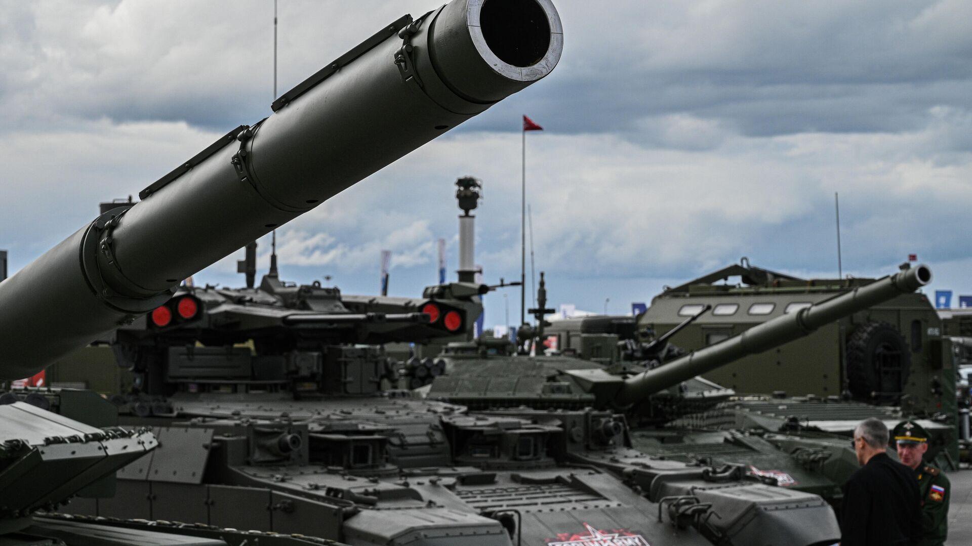 Tanques en la feria internacional de defensa Army 2021 - Sputnik Mundo, 1920, 25.08.2021