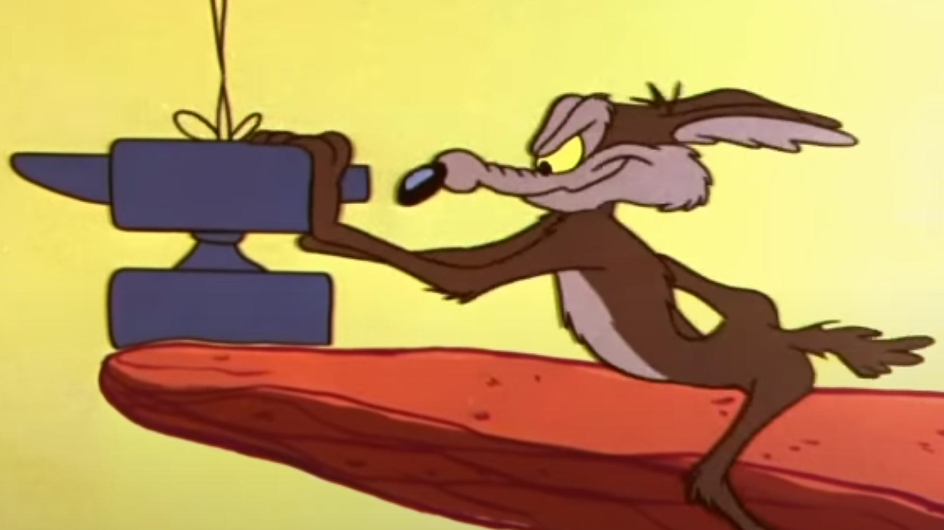 Un personaje de 'Looney Tunes' empuja un yunque - Sputnik Mundo, 1920, 26.08.2021