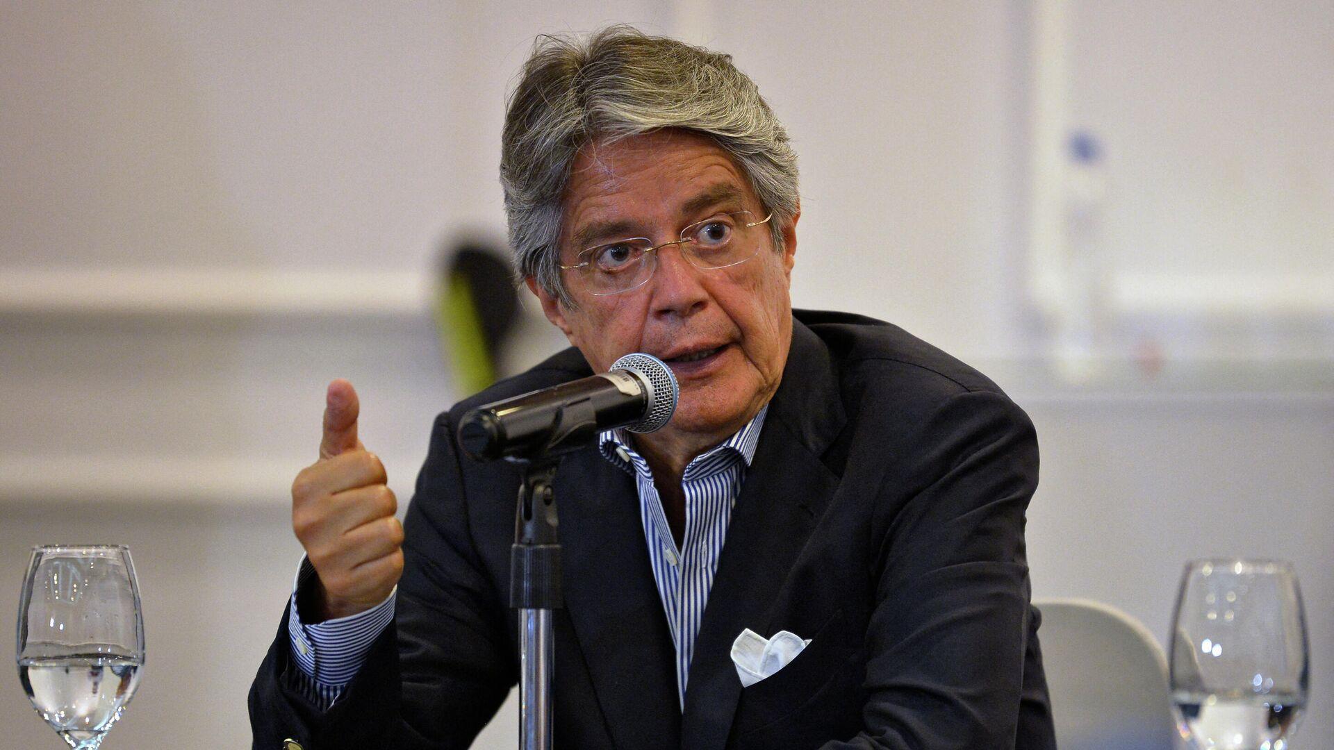 Guillermo Lasso, presidente de Ecuador - Sputnik Mundo, 1920, 18.09.2021