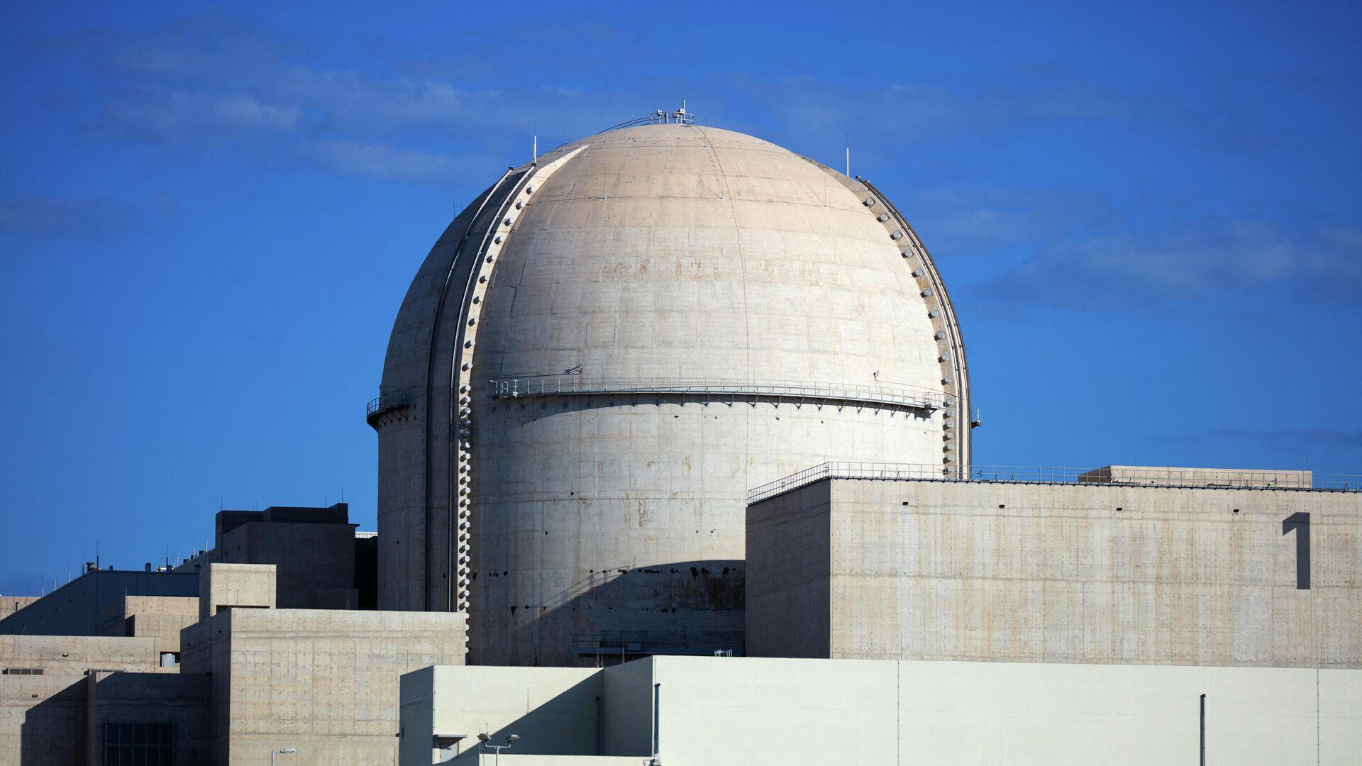 Primera planta nuclear de EAU en la localidad de Barakah - Sputnik Mundo, 1920, 27.08.2021