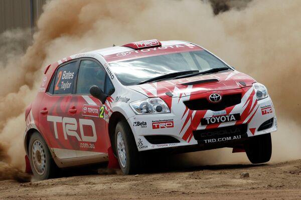 La versatilidad de este coche es uno de sus principales atractivos. En la foto: un Corolla participa en un rally en Melbourne, Australia.  - Sputnik Mundo