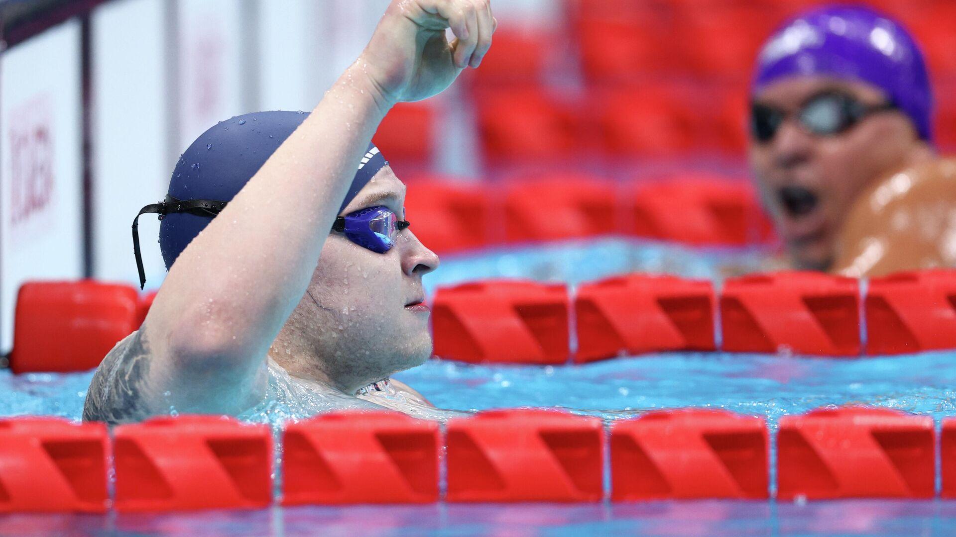 Dmitrii Cherniaev, nadador paralímpico ruso - Sputnik Mundo, 1920, 29.08.2021