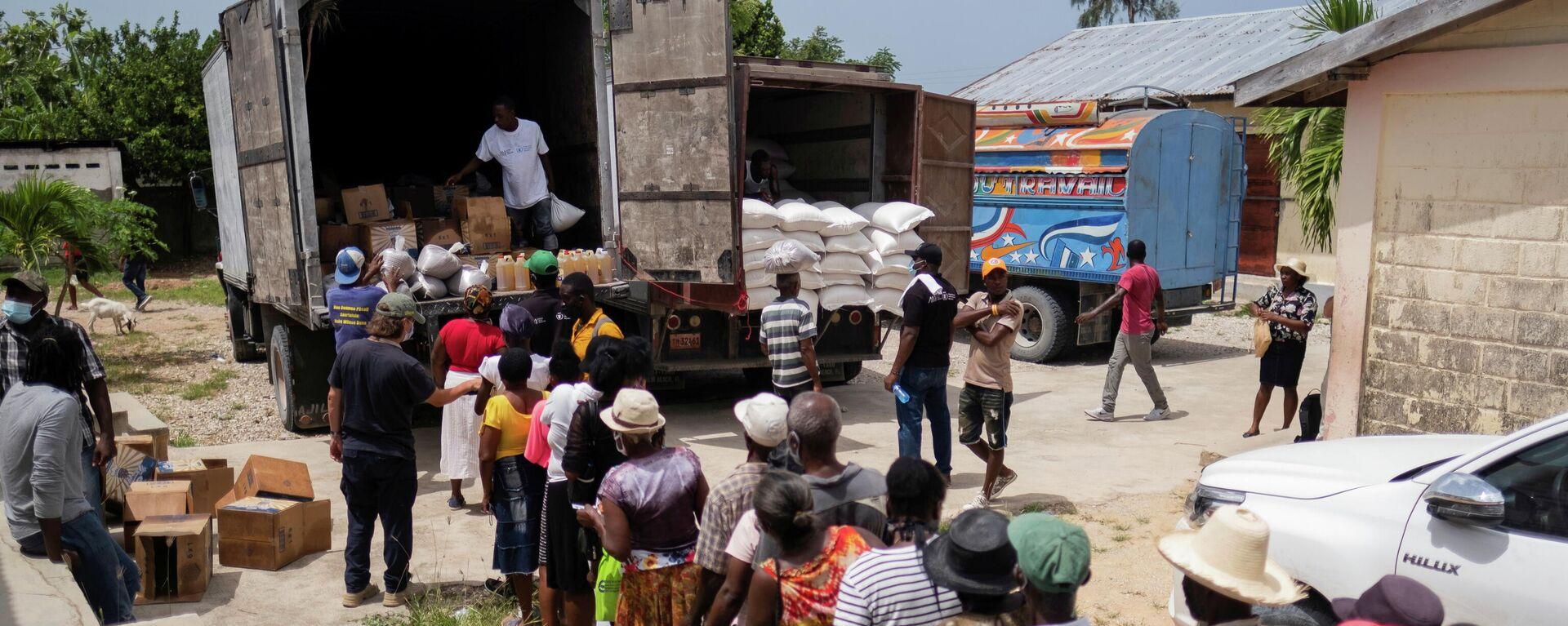 Hambre en Haití tras el terremoto - Sputnik Mundo, 1920, 30.08.2021
