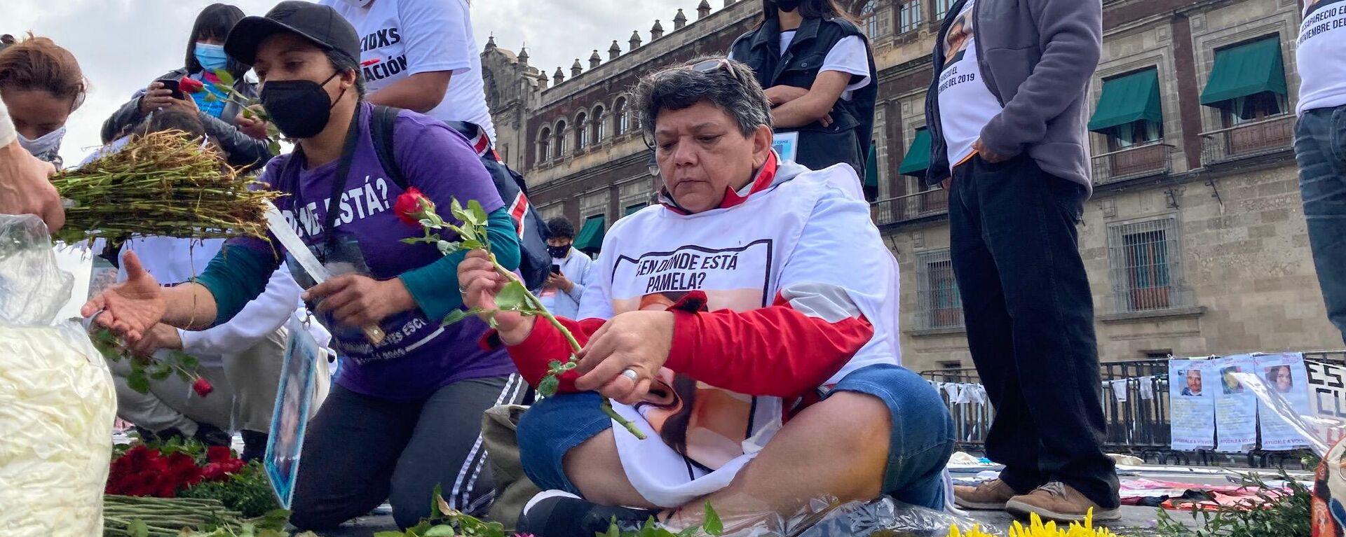 Protestas en la Ciudad de México en el Día Internacional de desaparición forzada - Sputnik Mundo, 1920, 30.08.2021
