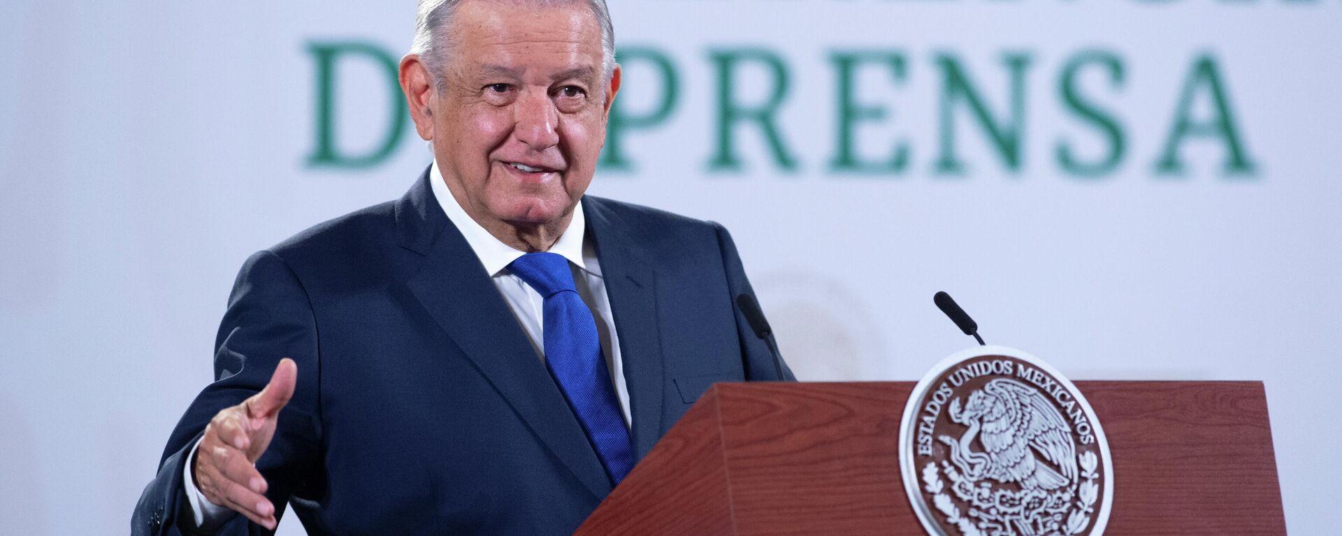 El presidente de México, AMLO - Sputnik Mundo, 1920, 01.09.2021