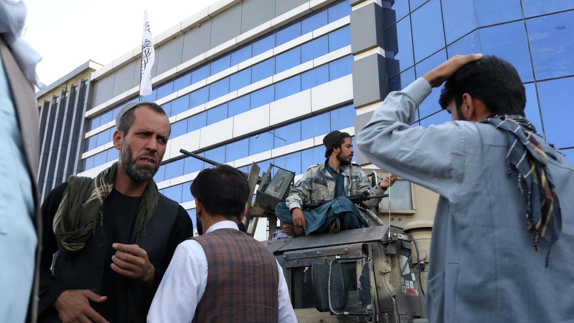 Talibanes en Kabul, Afganistán - Sputnik Mundo, 1920, 02.09.2021