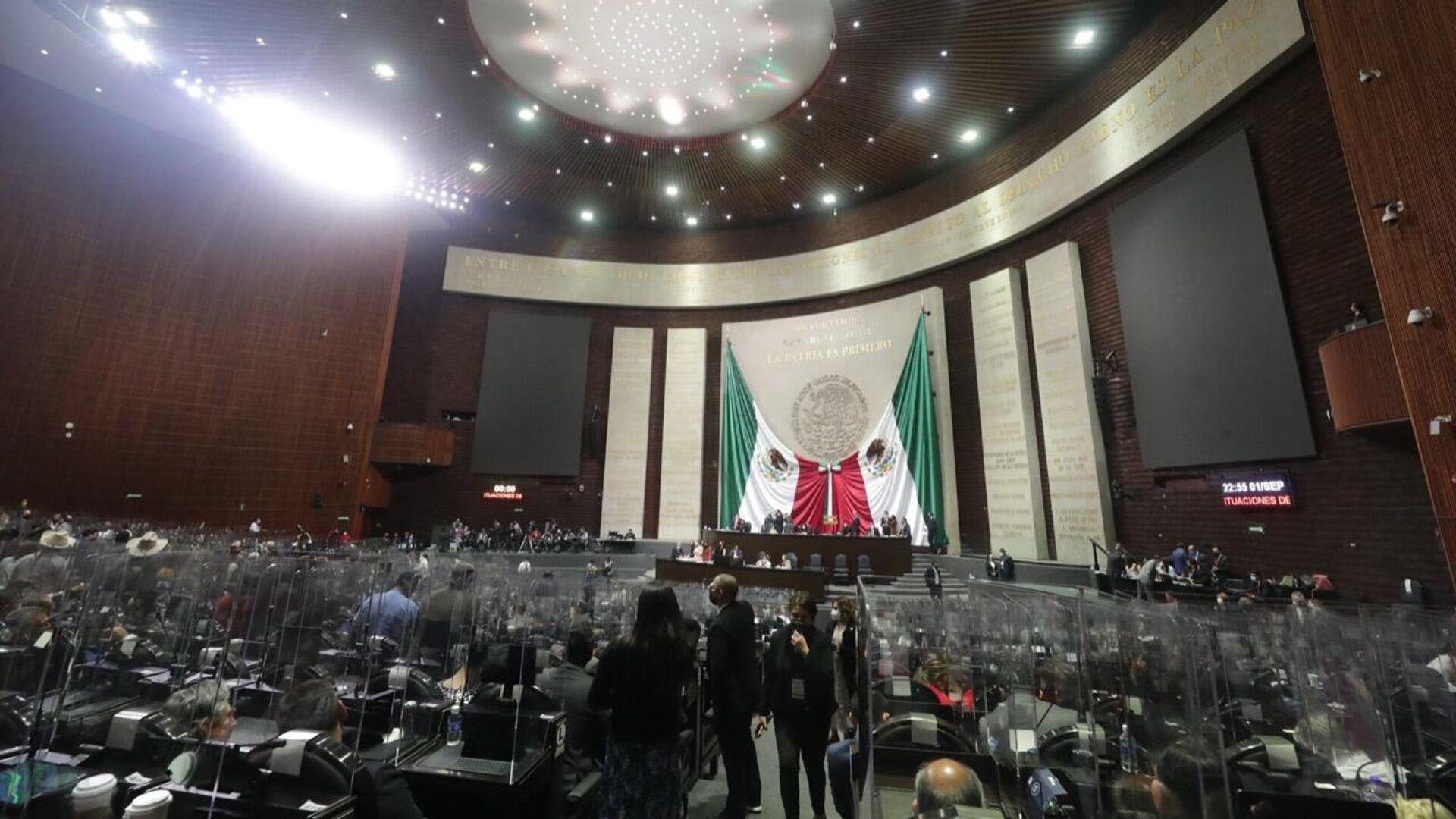 Cámara de Diputados en México  - Sputnik Mundo, 1920, 07.09.2021