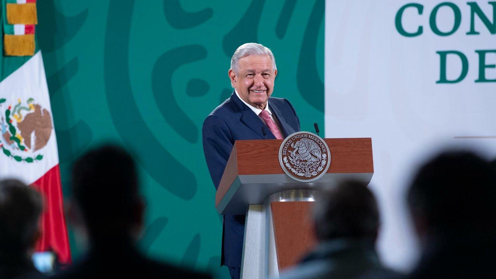 Andrés Manuel López Obrador - Sputnik Mundo, 1920, 07.09.2021