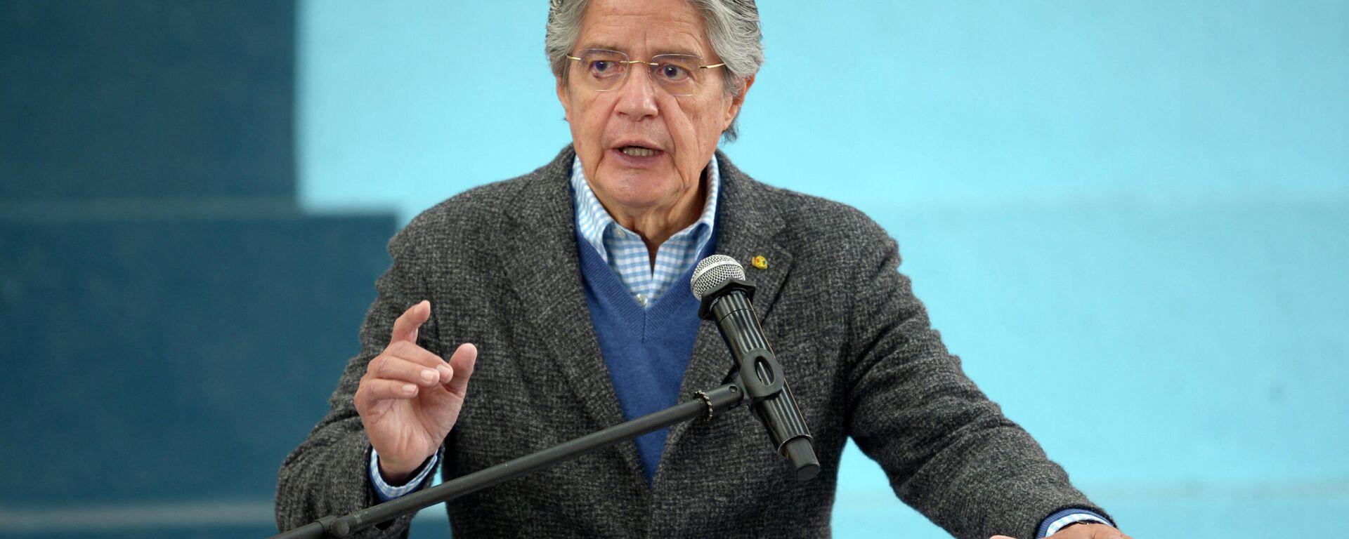 Guillermo Lasso, presidente de Ecuador - Sputnik Mundo, 1920, 02.09.2021