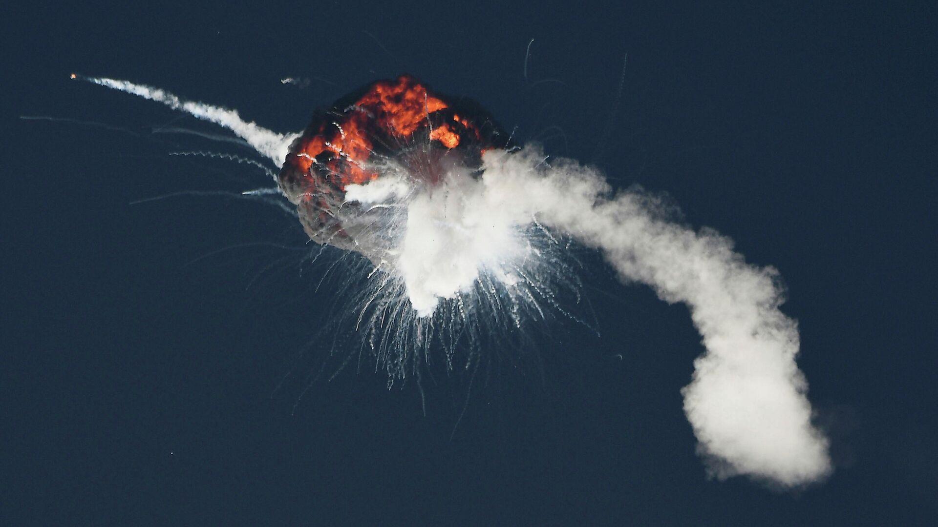 Explosión del cohete espacial Alpha - Sputnik Mundo, 1920, 03.09.2021