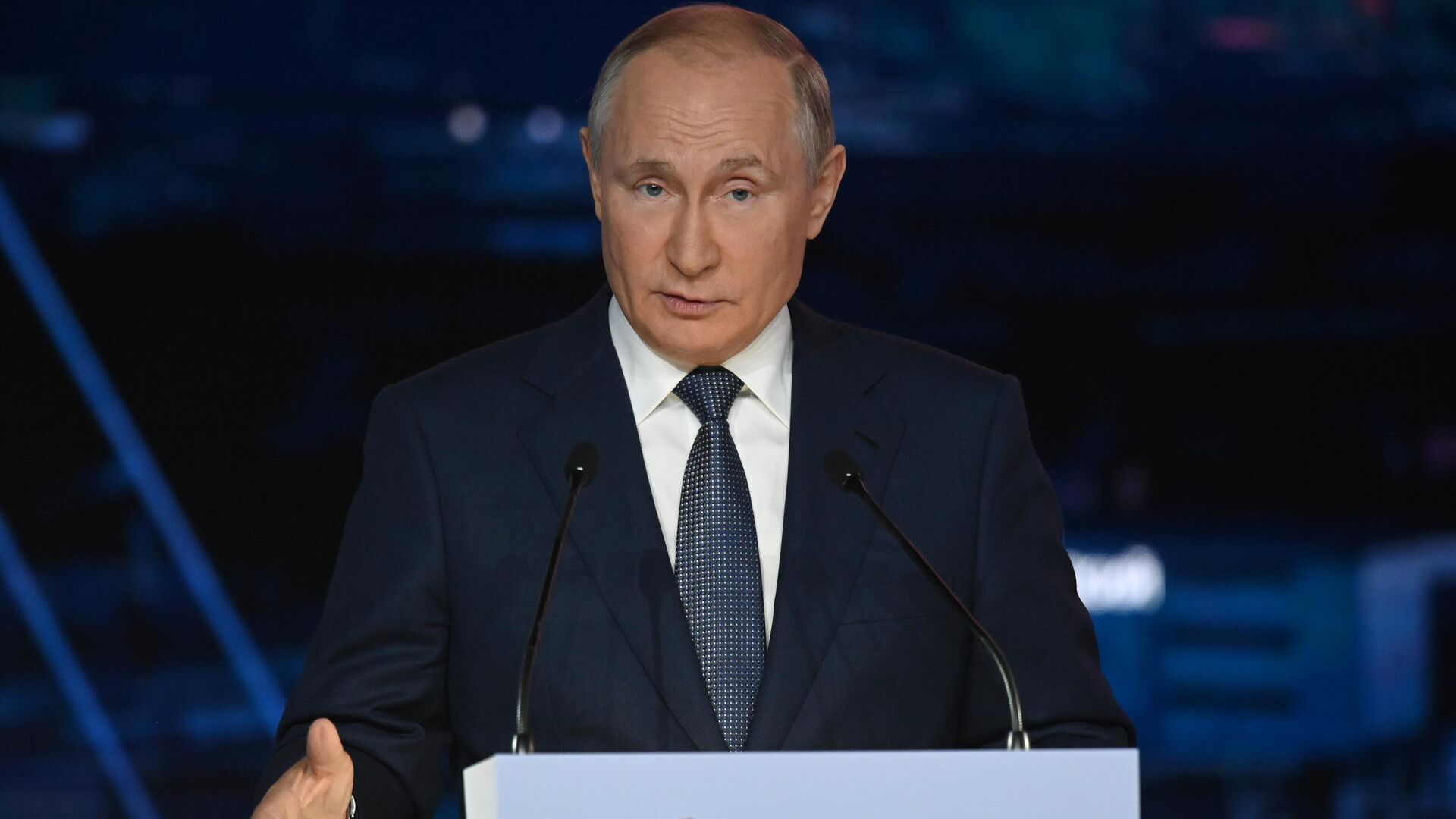 Vladímir Putin, presidente de Rusia - Sputnik Mundo, 1920, 14.10.2021