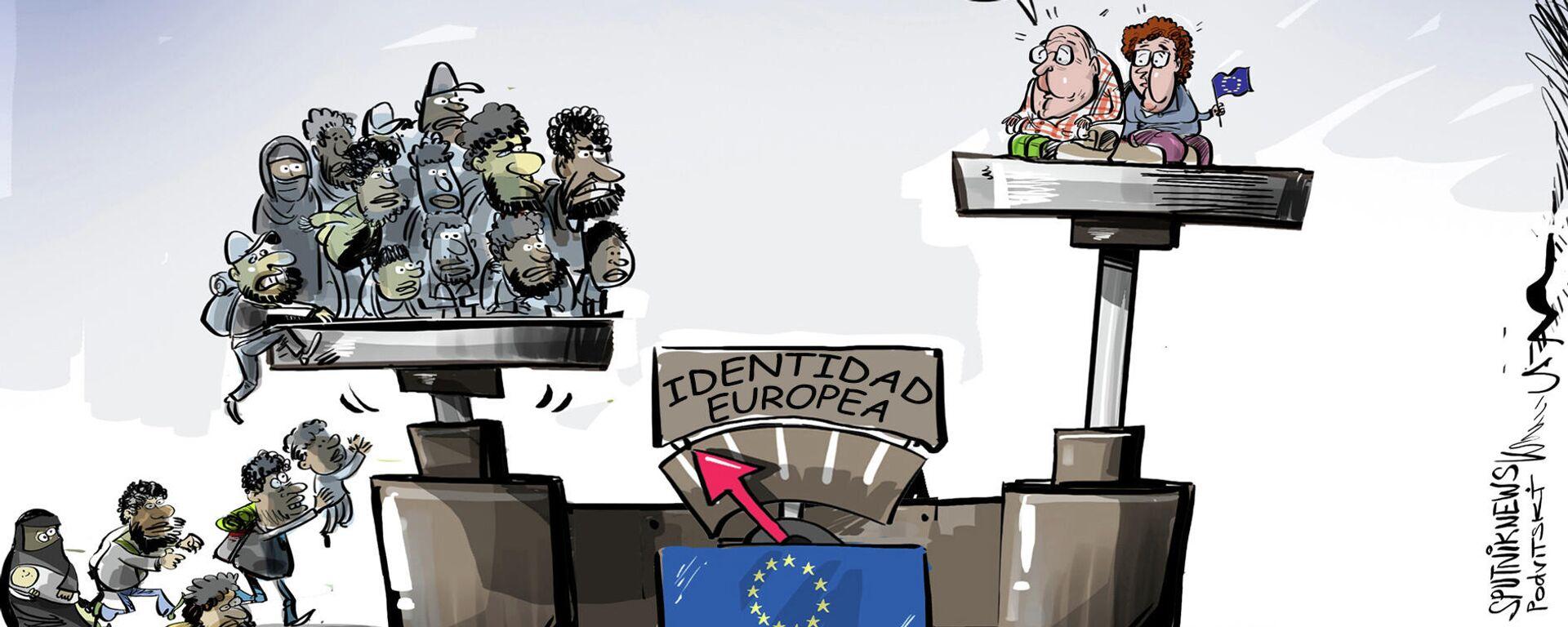 La UE no cambiará su identidad por migrantes afganos - Sputnik Mundo, 1920, 04.09.2021