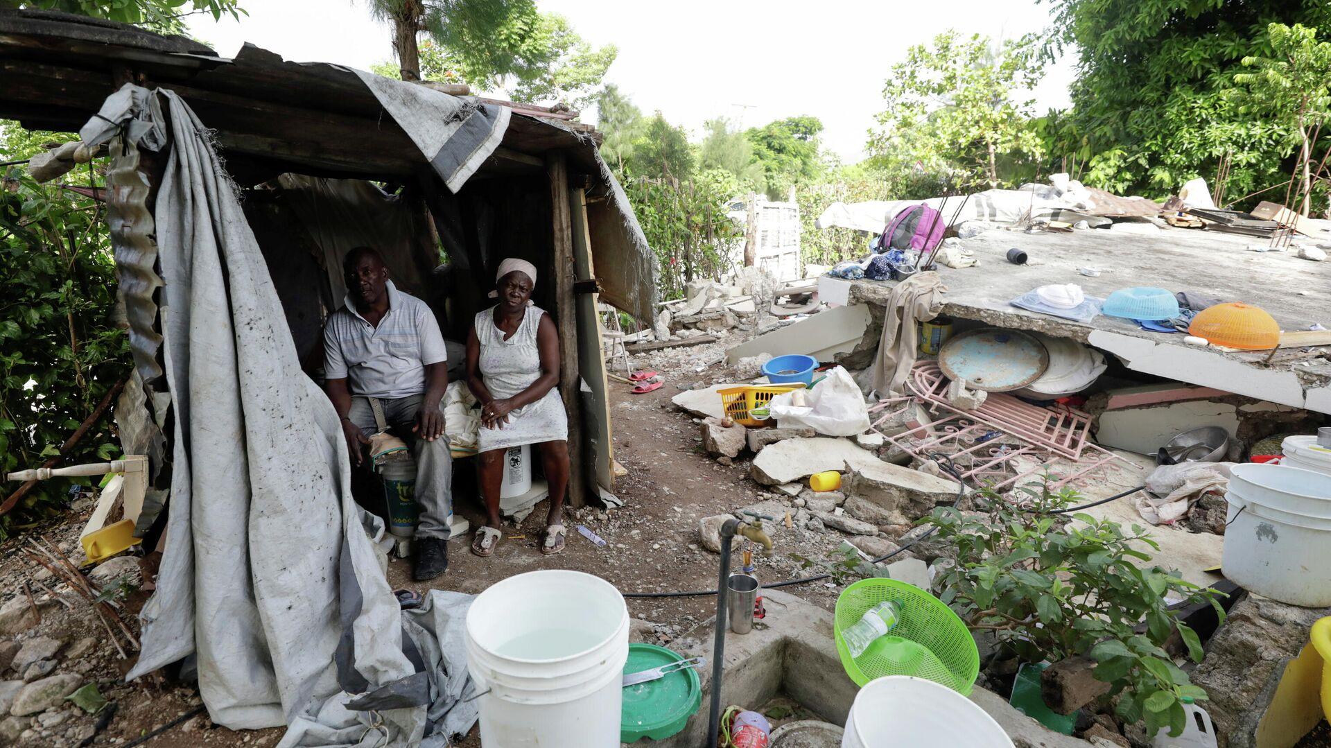 Consecuencias del terremoto en Haití - Sputnik Mundo, 1920, 06.09.2021