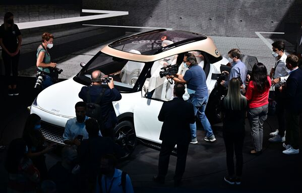 El prototipo de Mercedes Benz, denominado concept car Smart. - Sputnik Mundo