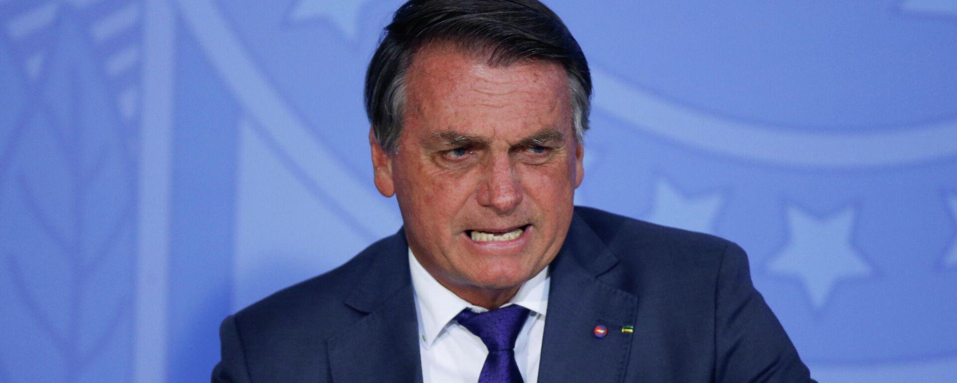 El presidente de Brasil, Jair Bolsonaro - Sputnik Mundo, 1920, 09.09.2021