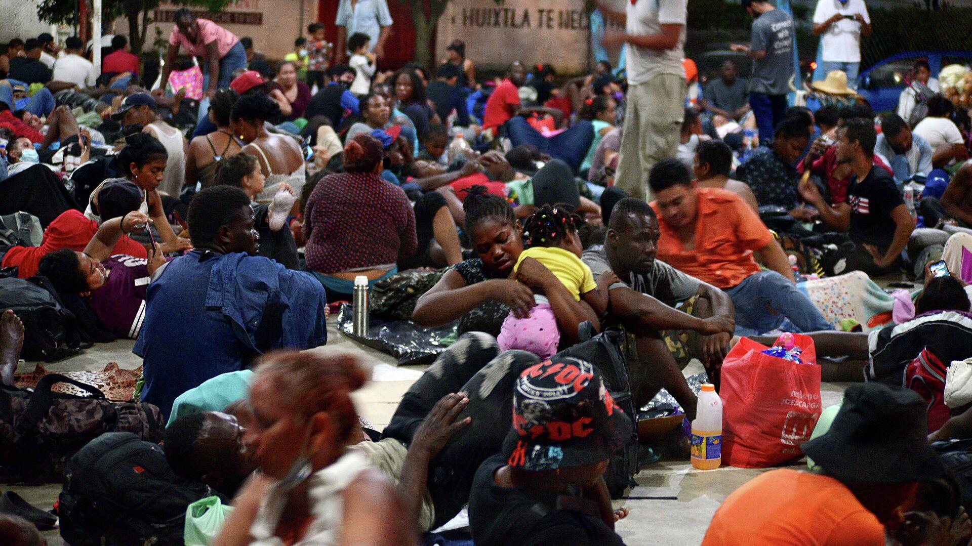 Migrantes en México - Sputnik Mundo, 1920, 08.09.2021