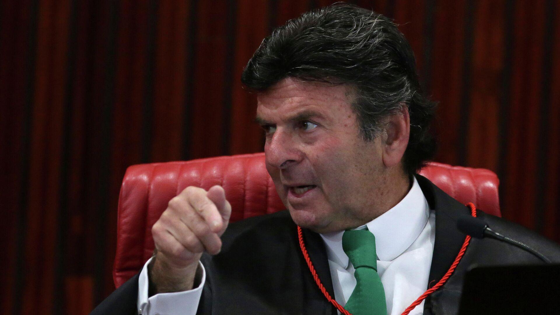 Luiz Fux, presidente del Supremo Tribunal Federal de Brasil - Sputnik Mundo, 1920, 08.09.2021