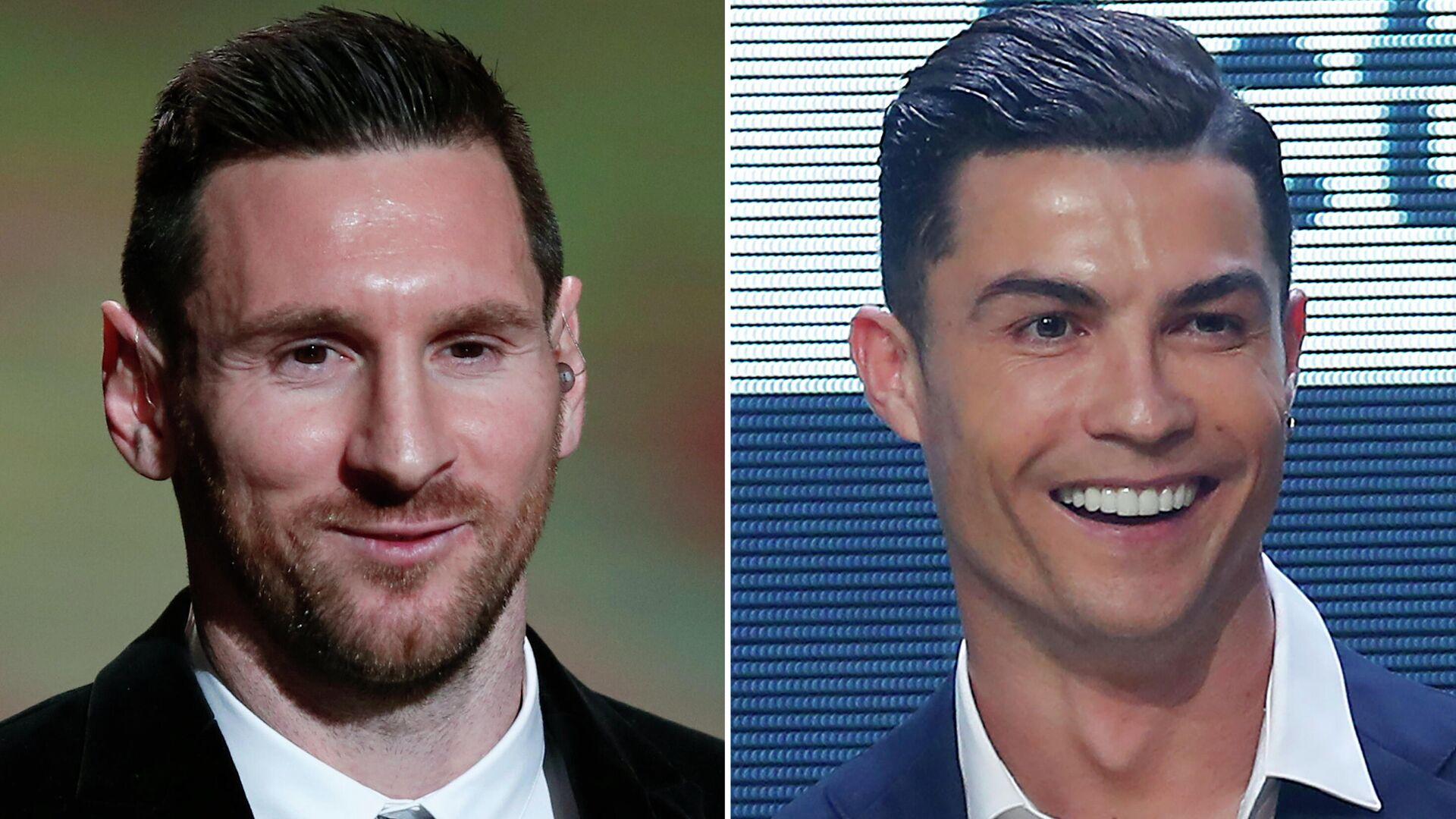 Lionel Messi y Cristiano Ronaldo, futbolistas - Sputnik Mundo, 1920, 08.09.2021