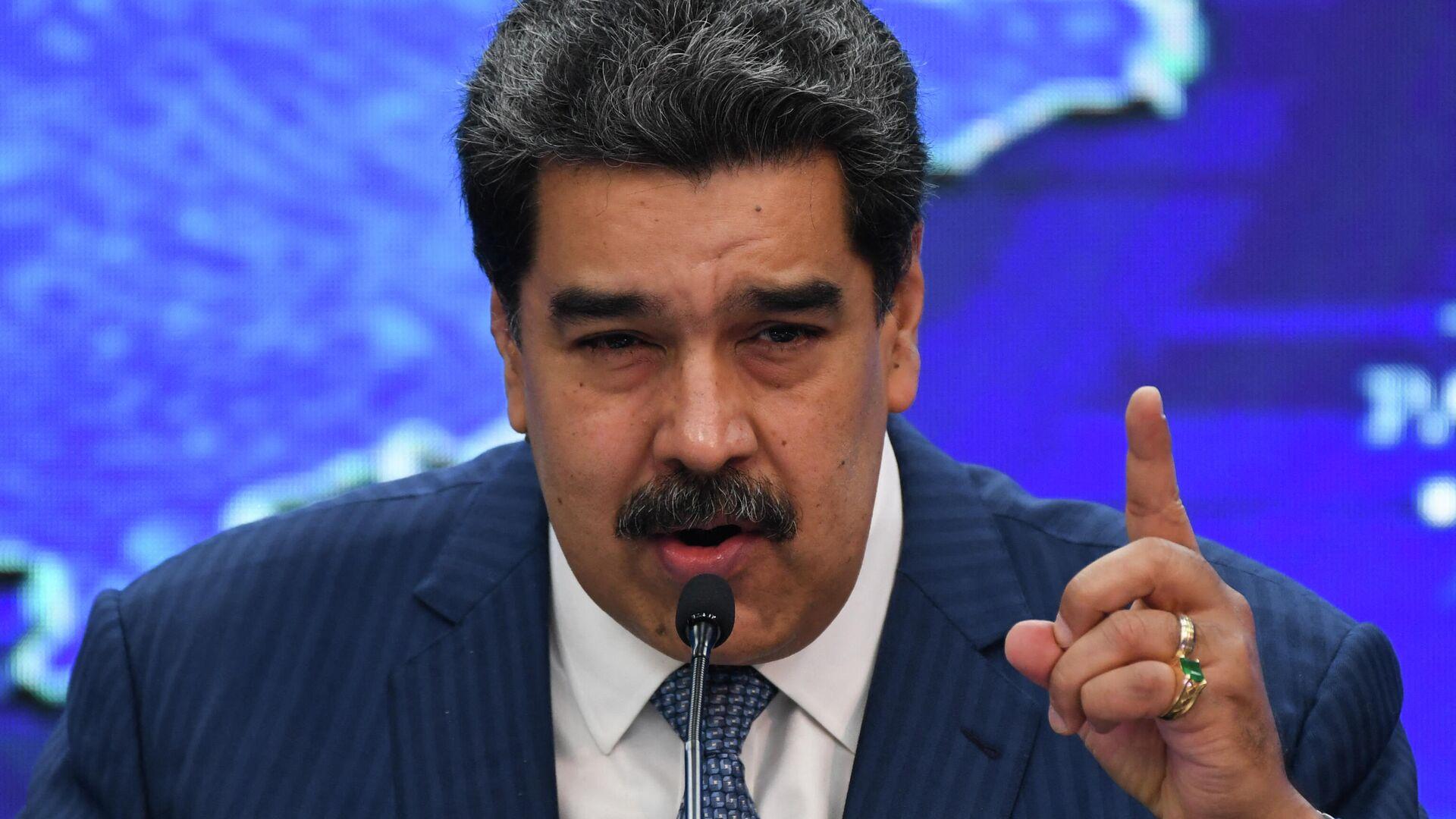 Nicolás Maduro, presidente de Venezuela - Sputnik Mundo, 1920, 25.09.2021