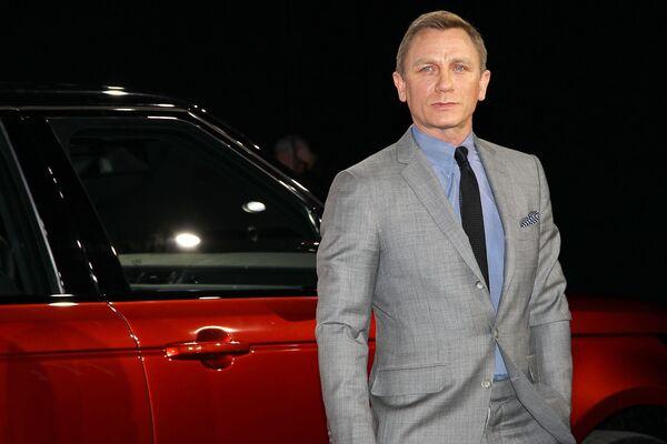 Daniel Craig protagonizó cinco películas de la saga James Bond entre 2006 y 2021. - Sputnik Mundo