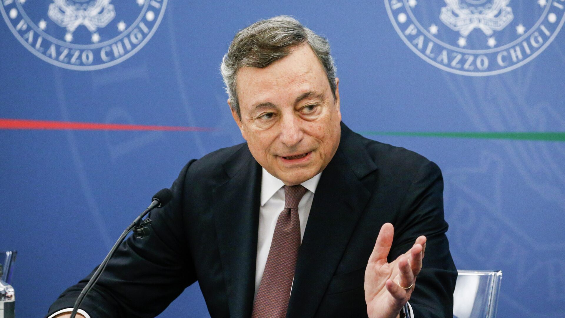 Mario Draghi, primer ministro de Italia - Sputnik Mundo, 1920, 09.09.2021