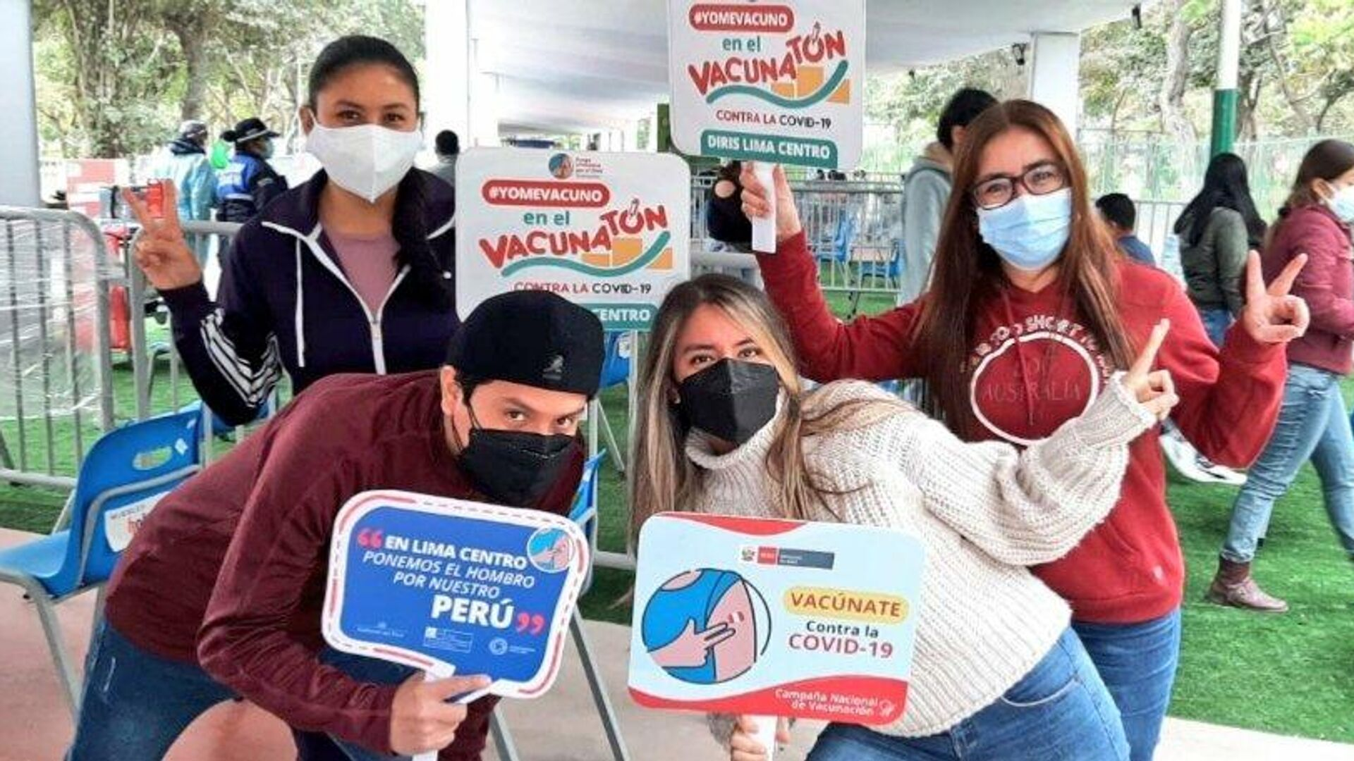 Campaña de vacunación en Perú - Sputnik Mundo, 1920, 14.09.2021