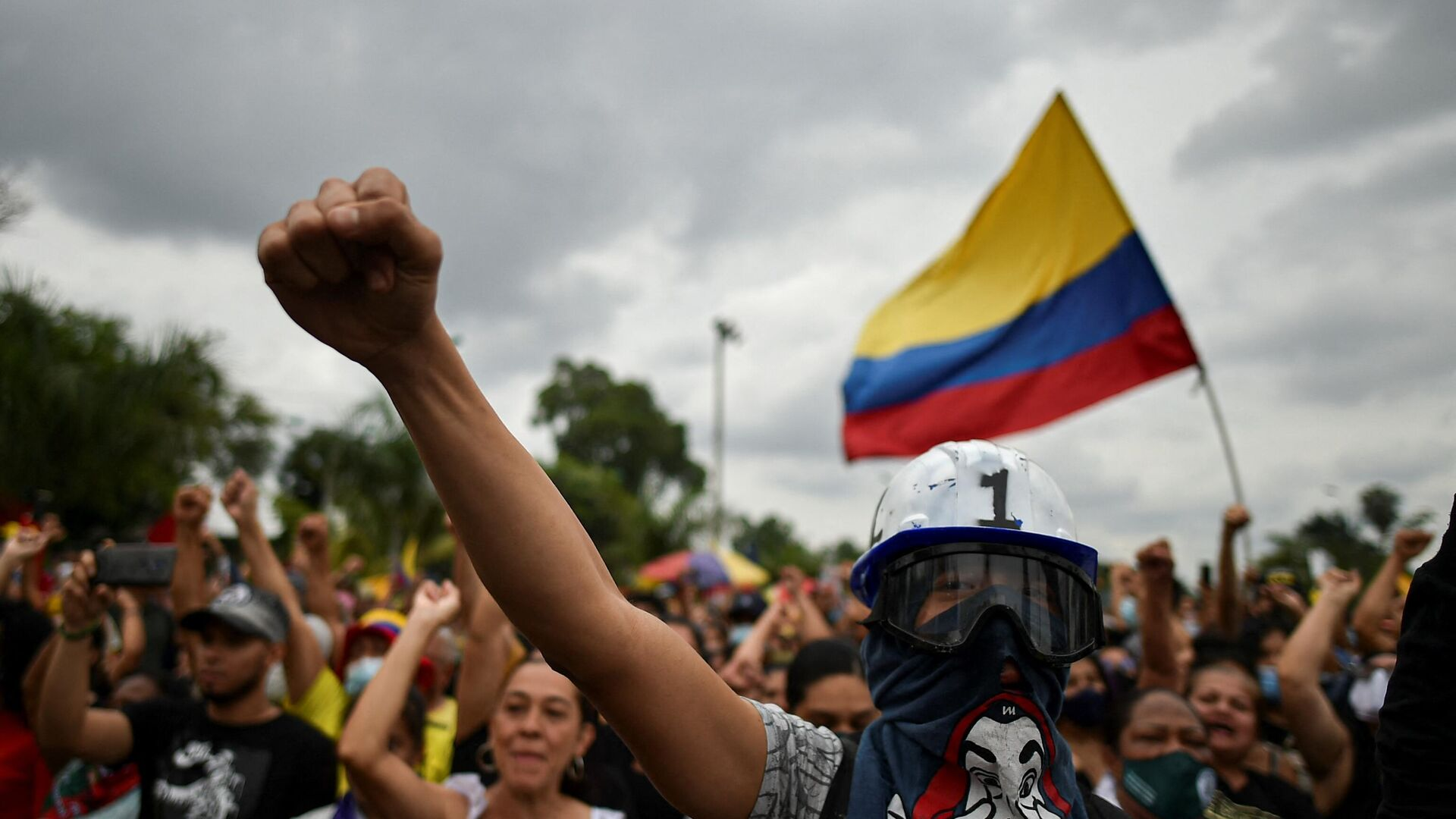 Protestas en Cali, Colombia - Sputnik Mundo, 1920, 29.09.2021