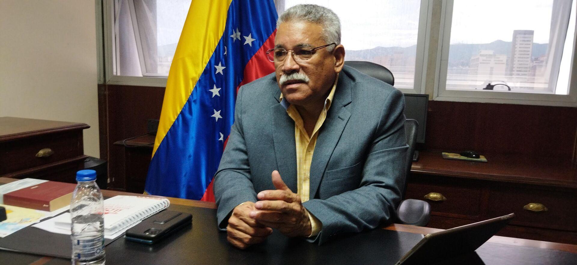 Diputado venezolano Ángel Rodríguez - Sputnik Mundo, 1920, 10.09.2021