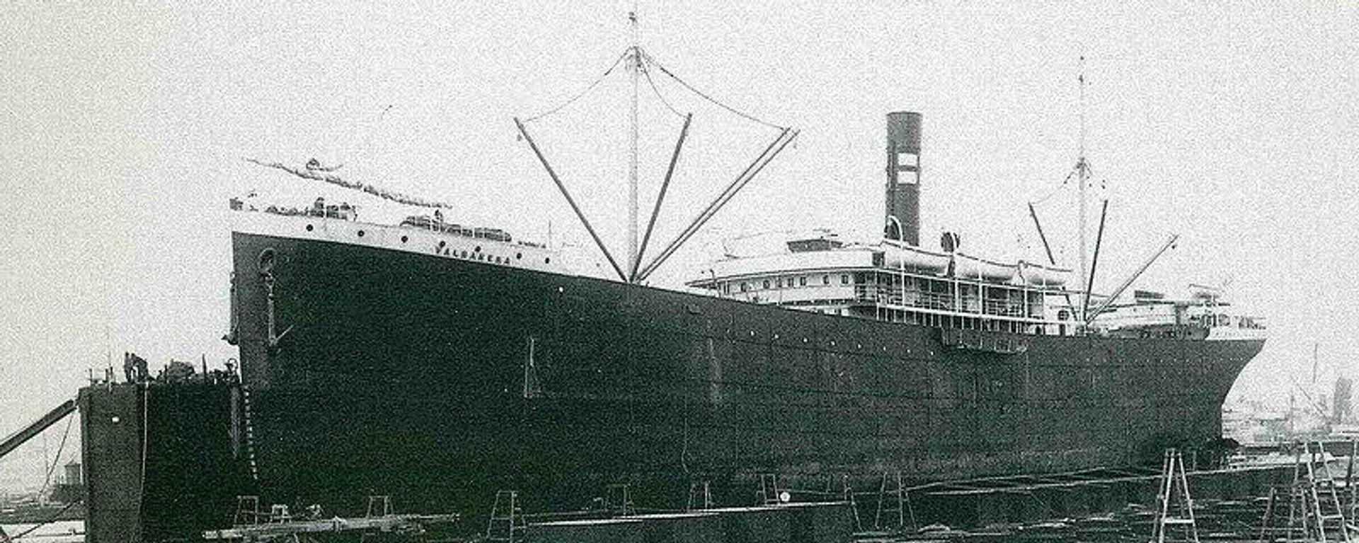 El Valbanera en el muelle de Barcelona - Sputnik Mundo, 1920, 10.09.2021