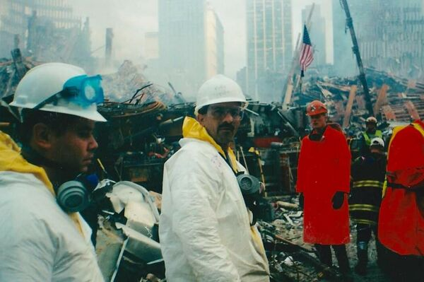 El bombero colombiano Luis Eduardo Marulanda  - Sputnik Mundo