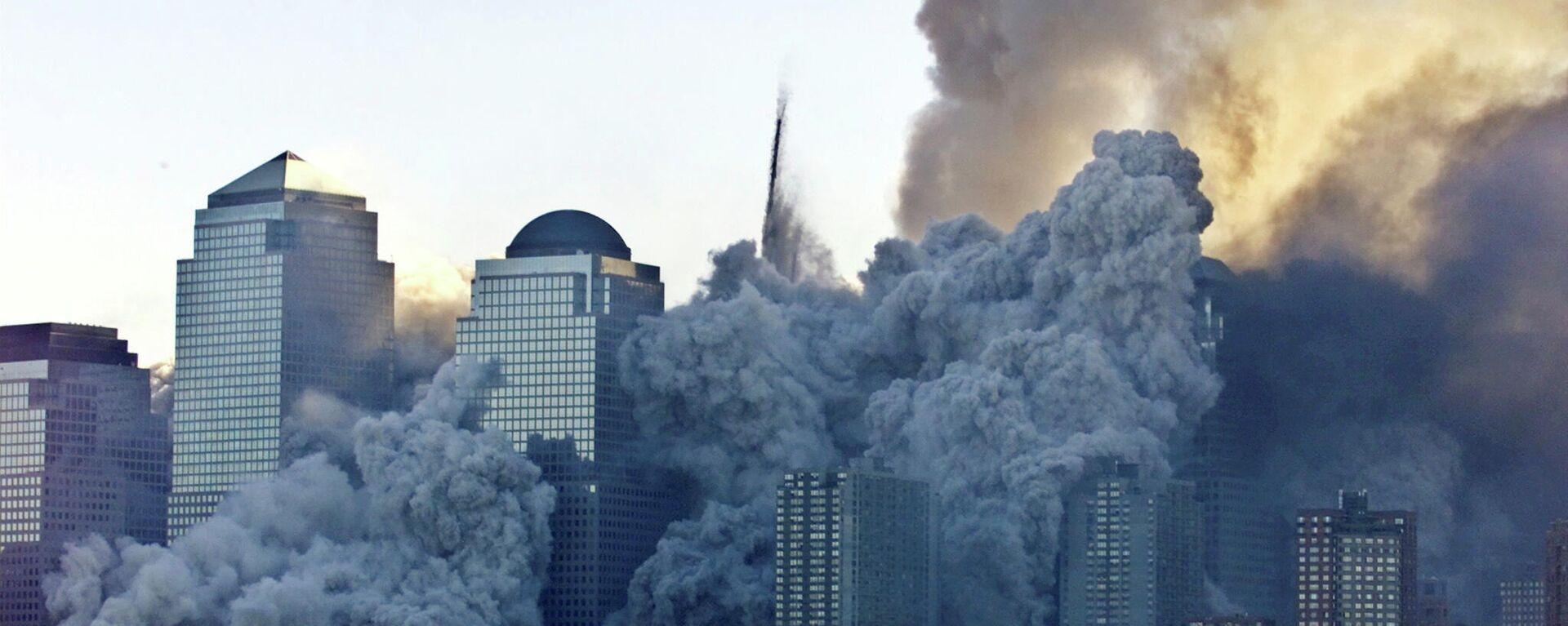 Los ataques terroristas del 11 de septiembre de 2001 en EEUU - Sputnik Mundo, 1920, 11.09.2021