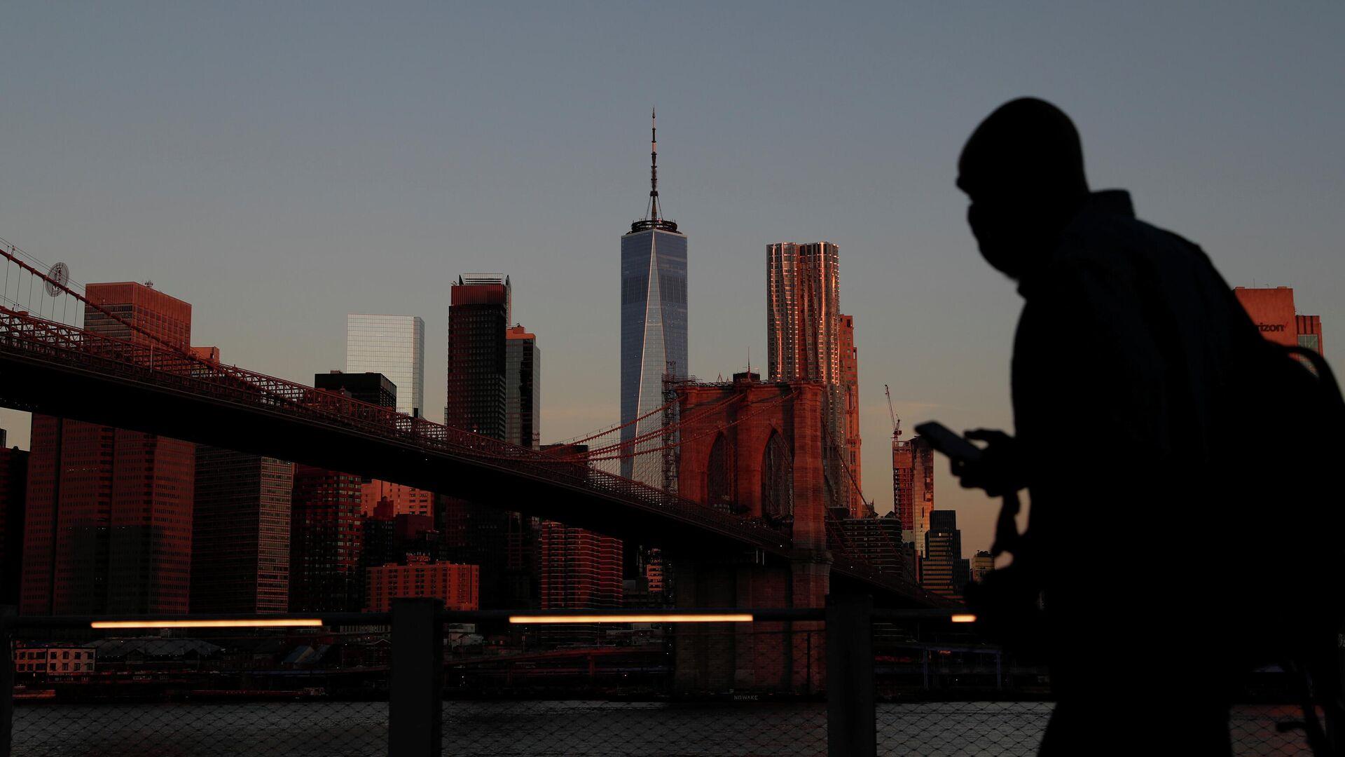 Veinte años después de los ataques del 11 de septiembre de 2001 en Nueva York, EEUU, el 11 de septiembre de 2021 - Sputnik Mundo, 1920, 11.09.2021