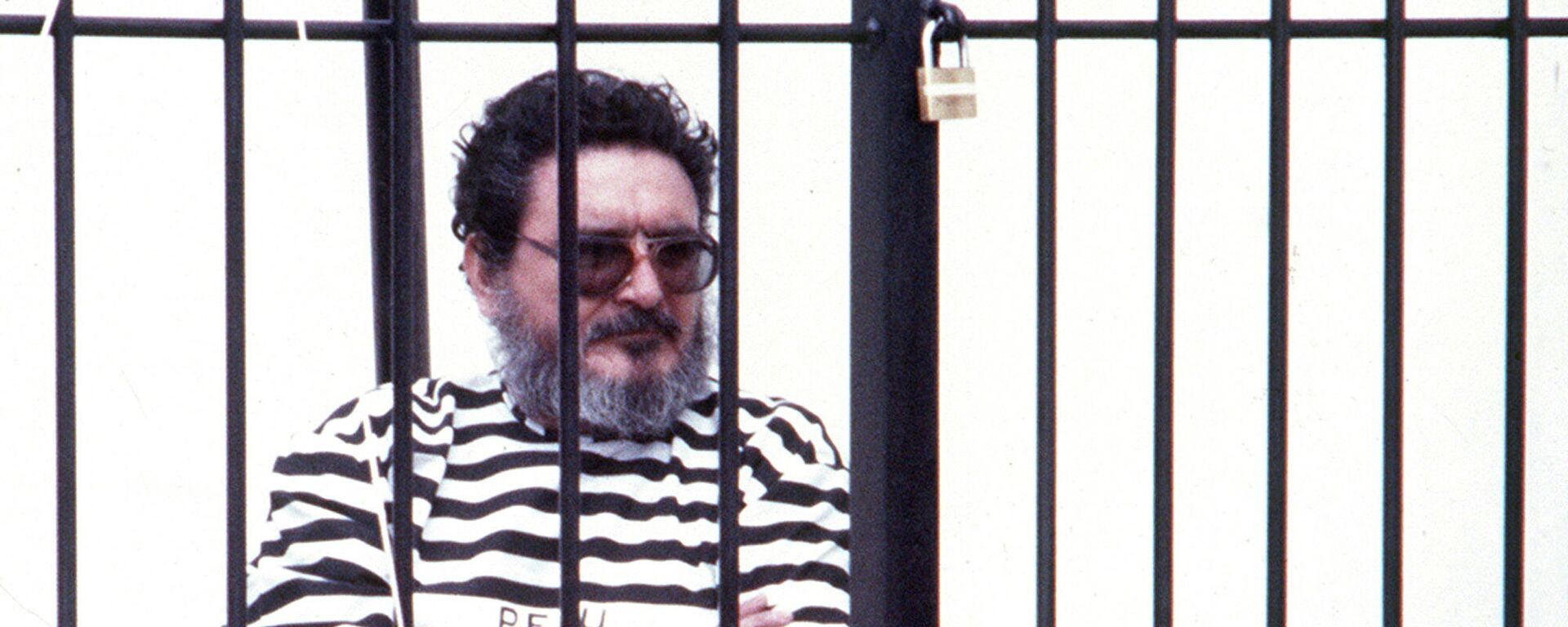 Abimael Guzmán, líder de Sendero Luminoso, detenido en Lima (Perú), el septiembre de 1992 - Sputnik Mundo, 1920, 11.09.2021