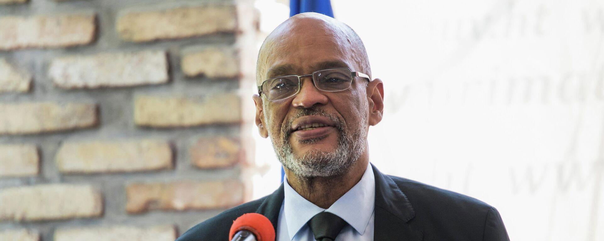Ariel Henry, primer ministro de Haití - Sputnik Mundo, 1920, 12.09.2021