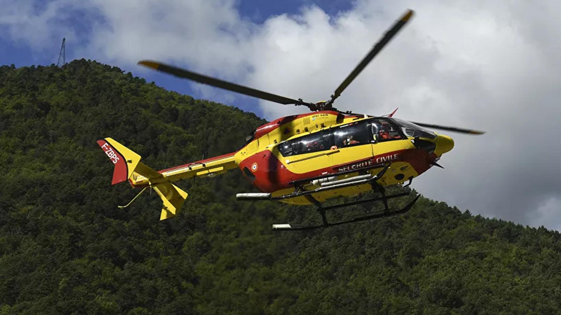 Helicóptero Eurocopter EC145 de la Guardia Civil de Francia (archivo) - Sputnik Mundo, 1920, 12.09.2021