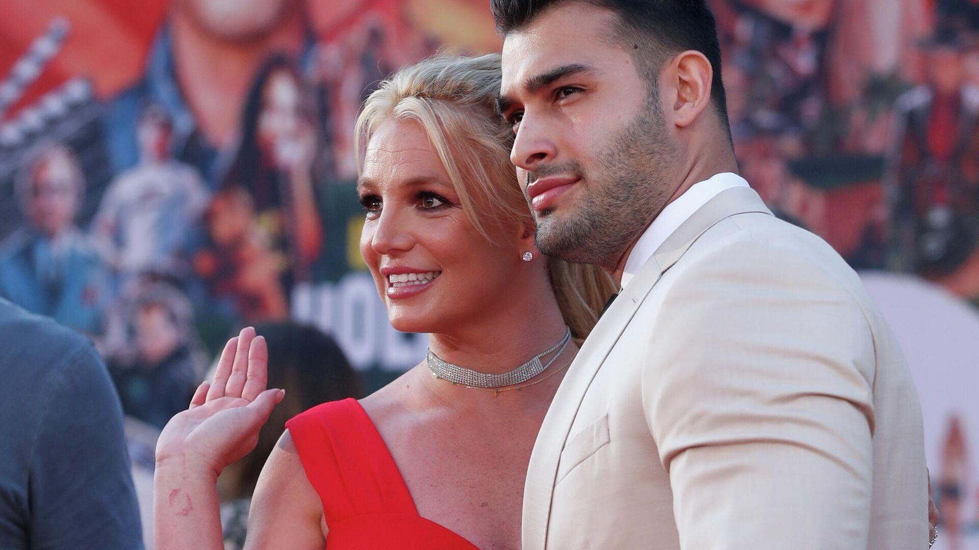 Britney Spears y su novio Sam Asghari - Sputnik Mundo, 1920, 13.09.2021