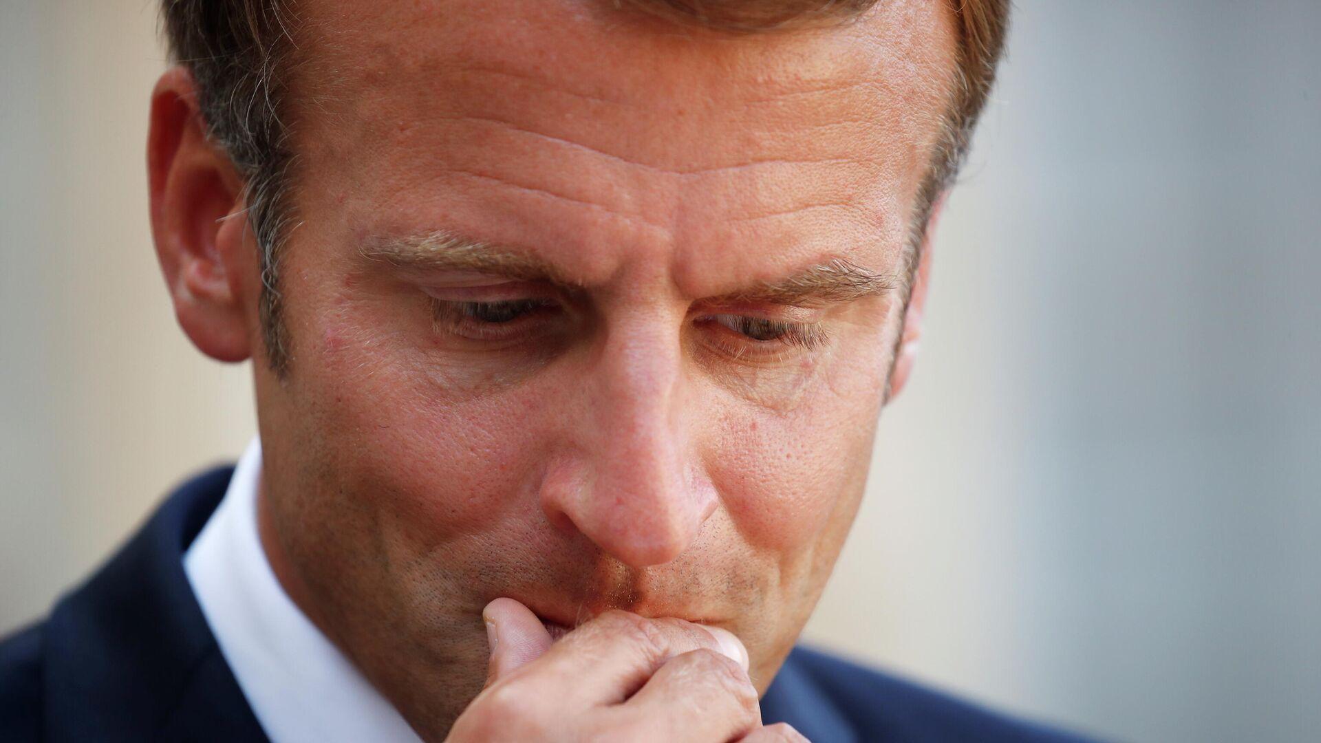 el presidente francés Emmanuel Macron - Sputnik Mundo, 1920, 21.09.2021