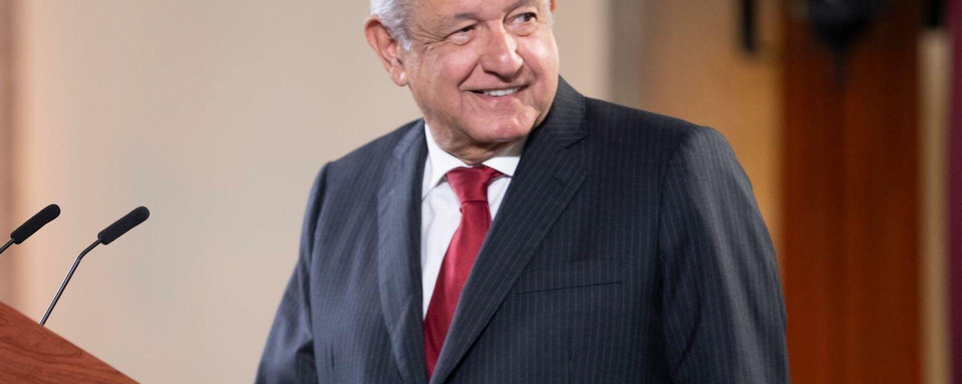 Andrés Manuel López Obrador - Sputnik Mundo, 1920, 20.09.2021