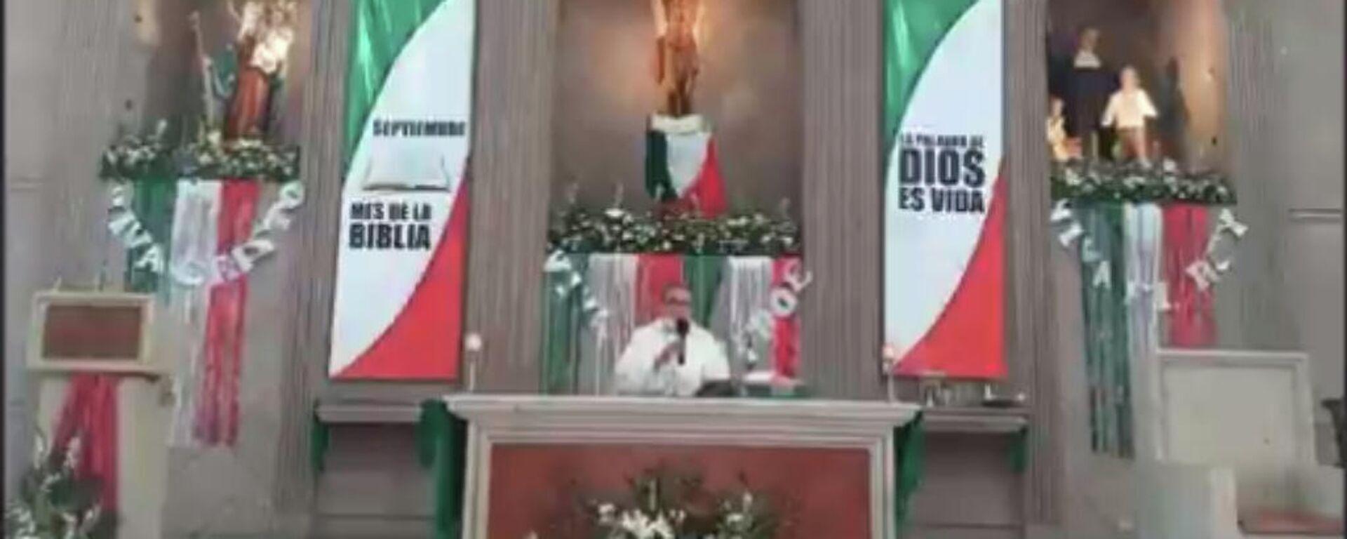 Sacerdote mexicano se lanza contra el aborto.  - Sputnik Mundo, 1920, 13.09.2021
