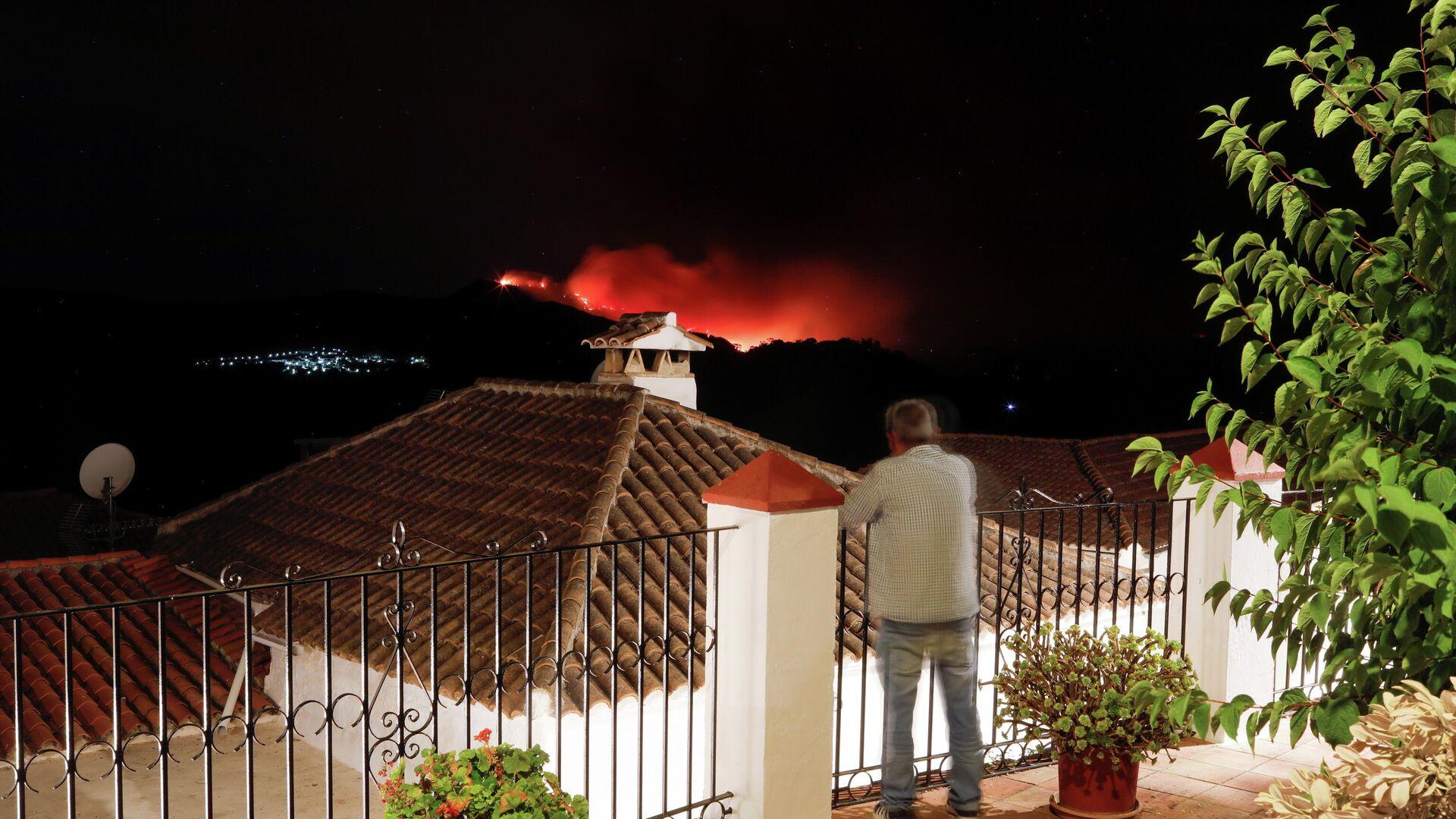 El incendio en el sur de España  - Sputnik Mundo, 1920, 13.09.2021