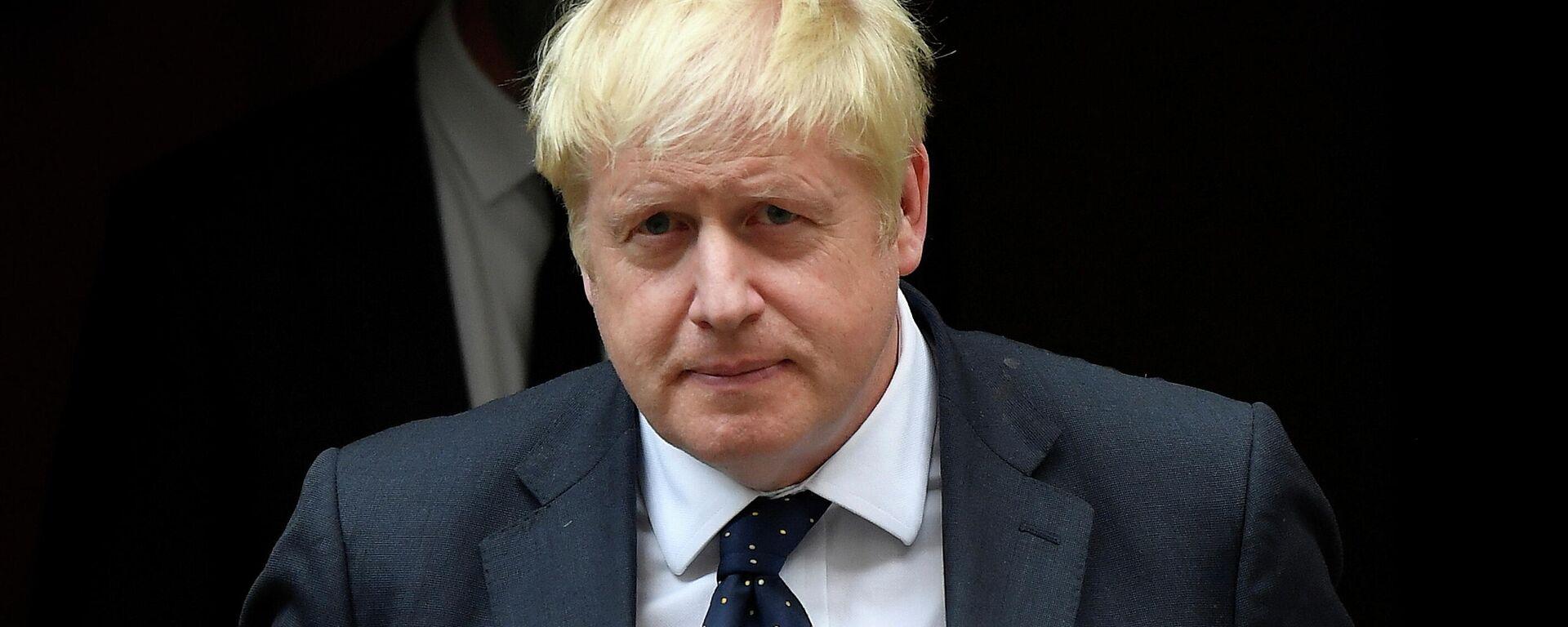 Boris Johnson, primer ministro del Reino Unido - Sputnik Mundo, 1920, 16.09.2021