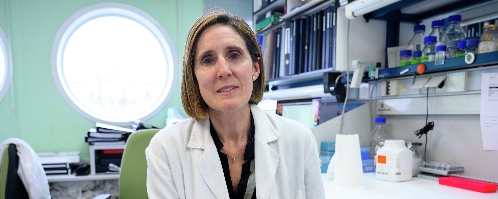 Isabel Sola, investigadora del Centro Nacional de Biotecnología y codirectora del grupo de coronavirus - Sputnik Mundo, 1920, 14.09.2021