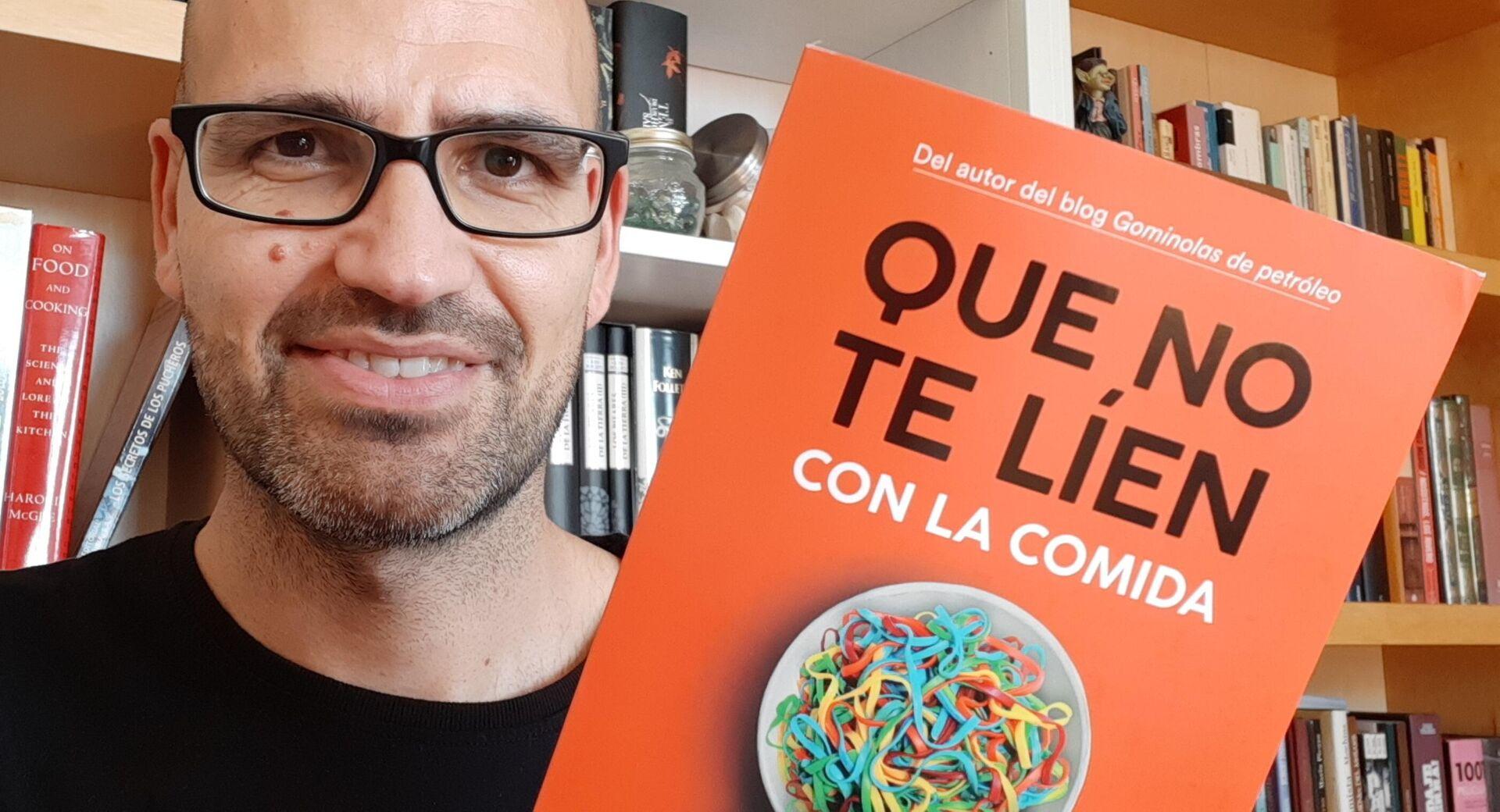 Miguel Ángel Lurueña, doctor en ciencia y tecnología de los alimentos y divulgador científico - Sputnik Mundo, 1920, 14.09.2021