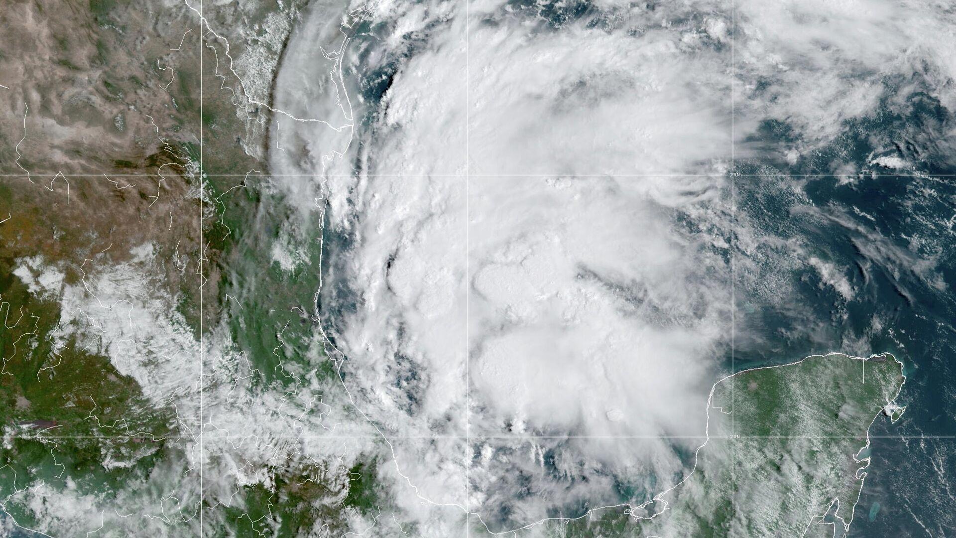 El huracán Nicholas - Sputnik Mundo, 1920, 14.09.2021