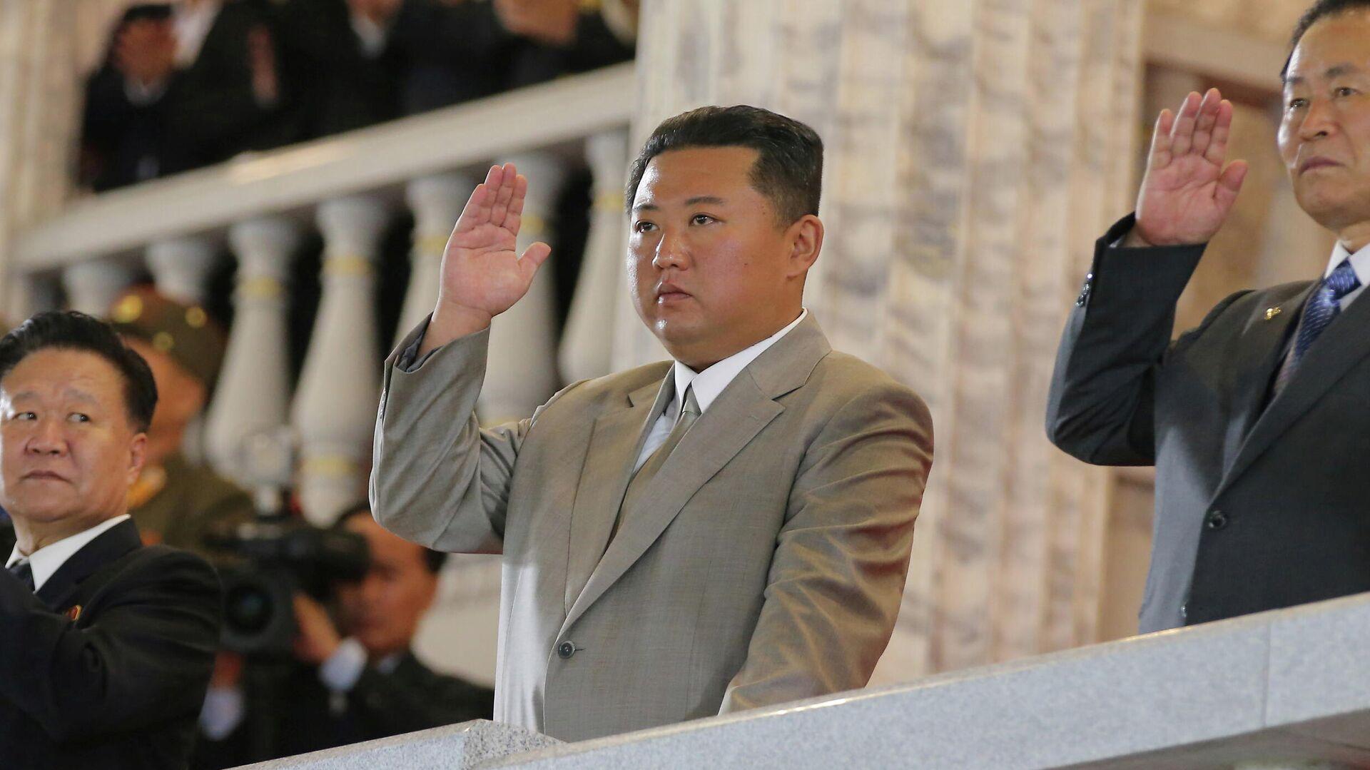 Kim Jong-un, líder de Corea del Norte - Sputnik Mundo, 1920, 11.10.2021