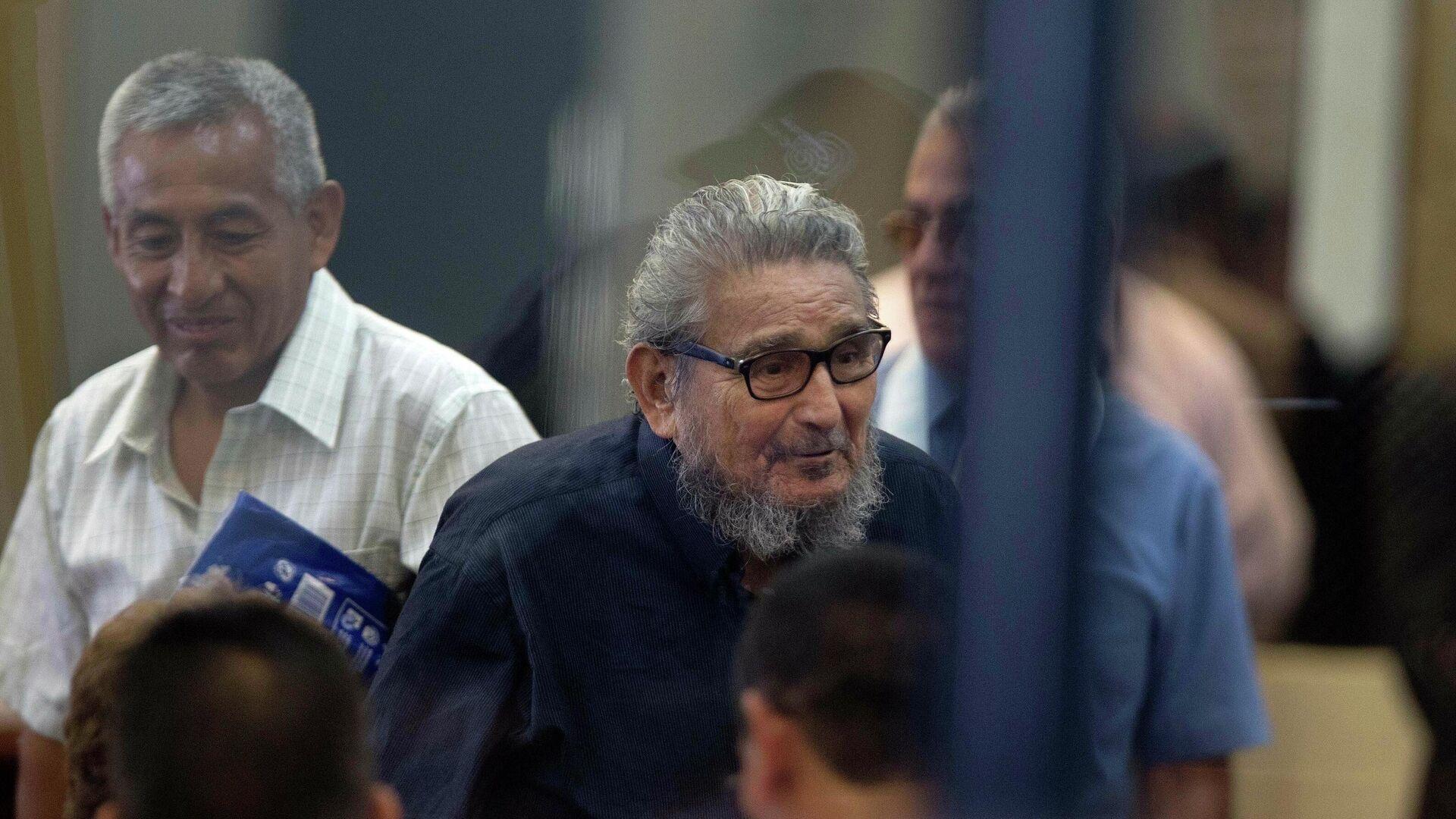El exlíder de Sendero Luminoso, Abimael Guzmán, durante un juicio en 2017 - Sputnik Mundo, 1920, 16.09.2021