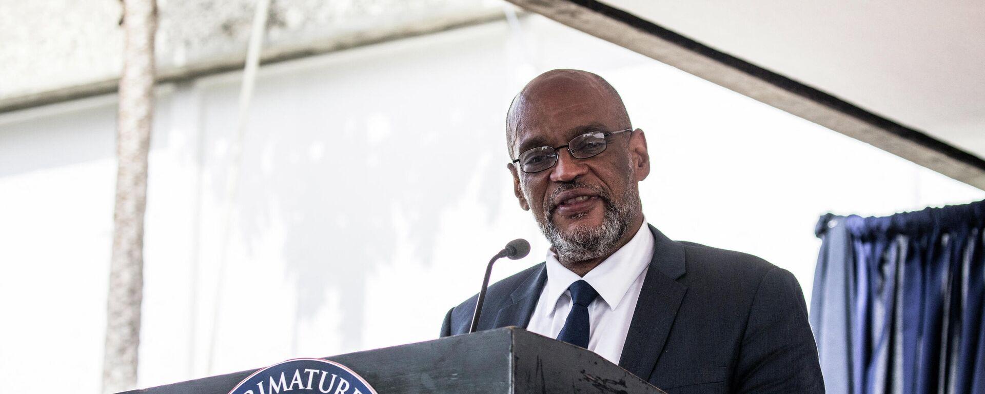 Ariel Henry, primer ministro de Haití - Sputnik Mundo, 1920, 17.09.2021